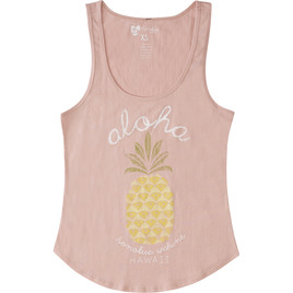 HONOLUA SURF - TANKS PIñA COLADA TANK TOP ROSE