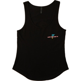 HONOLUA SURF - TEES HI-GETAWAY TANK BLACK