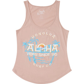 HONOLUA SURF - TEES DIAMOND HEAD TANK TOP ROSE
