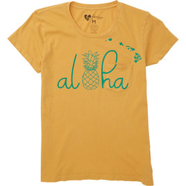 HONOLUA SURF - TEES ISLAND LIFE TEE HONEY GOLD