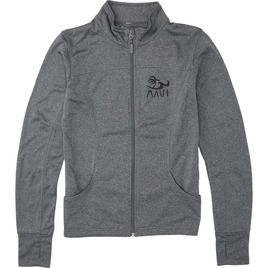 HONOLUA - FLEECE & HOODIES VIVA MAUI ZIP JACKET GUNMETAL HEATHER