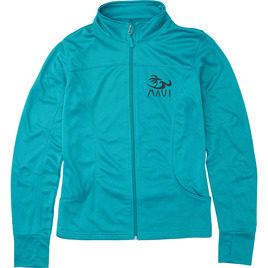 HONOLUA - FLEECE & HOODIES VIVA MAUI ZIP JACKET JADE