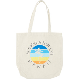 HONOLUA SURF - BAGS & BACKPACKS SUNSET PALM TOTE BAG