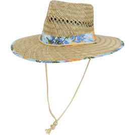 HONOLUA SURF WOMENS-HAWAIIAN-ACCESSORIES AIDEN HAT NATURAL