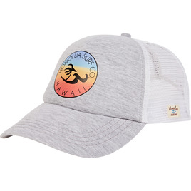 HONOLUA SURF WOMENS-HAWAIIAN-ACCESSORIES RIDE HAT WHITE