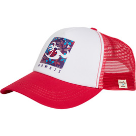 HONOLUA SURF - HATS TRIPPIN TRUCKER HAT HOT PINK
