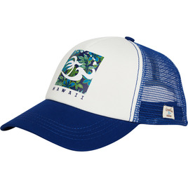 HONOLUA SURF - HATS TRIPPIN TRUCKER HAT NAVY