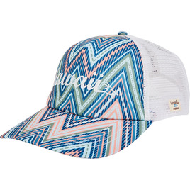 HONOLUA SURF - HATS ZIG ZAG TRUCKER HAT WHITE