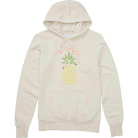 HONOLUA SURF - SWEATSHIRTS & HOODIES PINA COLADA HOODED FLEECE NATURAL