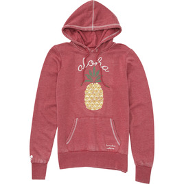 HONOLUA SURF - SWEATSHIRTS & HOODIES PINA COLADA HOODED FLEECE WINE