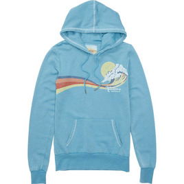 HONOLUA - SWEATSHIRTS & HOODIES SQUALOR FLEECE SEA BLUE