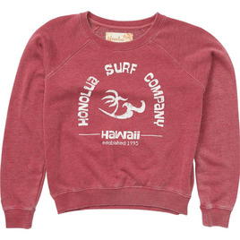 HONOLUA - FLEECE & HOODIES SURF ESTABLISHED FLEECE WINE