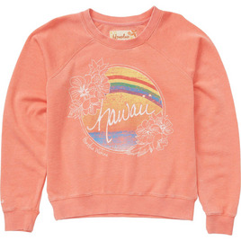 HONOLUA - FLEECE & HOODIES PARADISE FLEECE ROSE