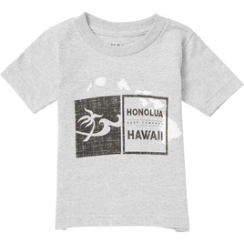 HONOLUA HAWAIIAN (PRODUCT URL BUG) KID'S DOUBLE DOUBLE SS TEE