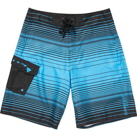 HONOLUA HAWAIIAN (PRODUCT URL BUG) WILDSIDE BOARDSHORTS BLACK/CYAN