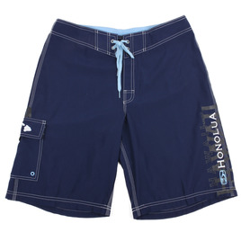 HONOLUA MENS-HAWAIIAN-BOARDSHORTS ONE AND ONLY BOARDSHORTS NAVY