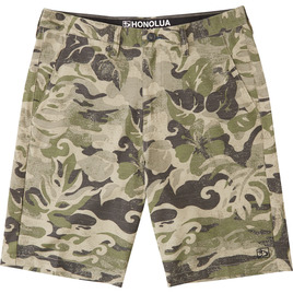HONOLUA SURF - SHORTS ANCHOR POINT SLUB SHORTS CAMOFLAUGE
