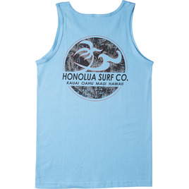 HONOLUA SURF CLOTHING CLASSIC TANK CAROLINA BLUE
