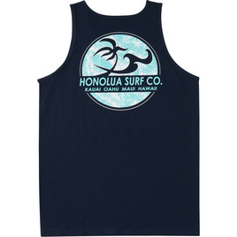 HONOLUA SURF CLOTHING CLASSIC TANK NAVY