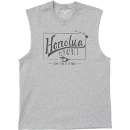 HONOLUA HAWAIIAN (PRODUCT URL BUG) LIFETIME TANK ATHLETIC HEATHER