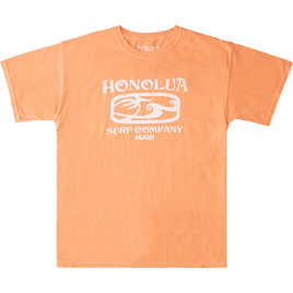 HONOLUA SURF CLOTHING ETCHED MAUI SHORT SLEEVE TEE MELON