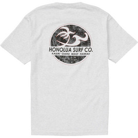 HONOLUA SURF MENS-HAWAIIAN-CLOTHING CLASSIC SS TEE ASH