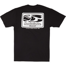HONOLUA CLOTHING SURF CO SHORT SLEEVE TEE BLACK