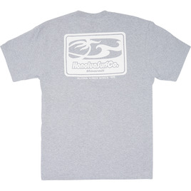 HONOLUA CLOTHING SURF CO SHORT SLEEVE TEE HEATHER GREY