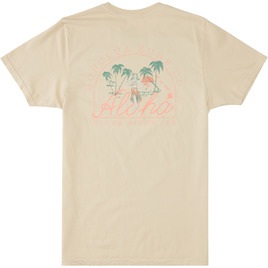 HONOLUA CLOTHING TROPIC VISION SHORT SLEEVE TEE NATURAL