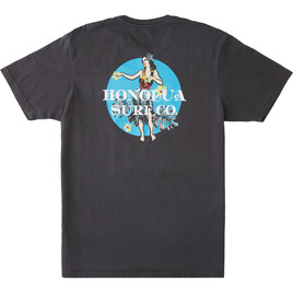 HONOLUA SURF CLOTHING LAST HULA SHORT SLEEVE TEE SHADOW