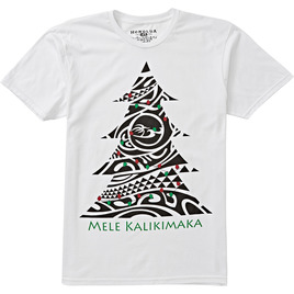 HONOLUA SURF CLOTHING MEN'S KALIKIMAKA TEE WHITE