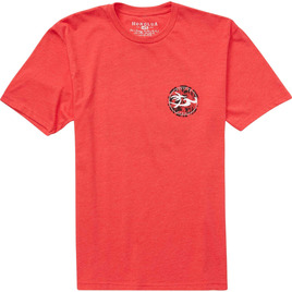 HONOLUA SURF CLOTHING MOONLIGHT TEE RED