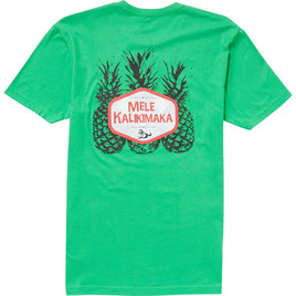 HONOLUA HAWAIIAN (PRODUCT URL BUG) LIMITED EDITION PINEAPPLE KALIKI TEE