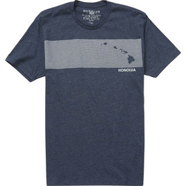 HONOLUA SURF CLOTHING STRIPE COMP TEE