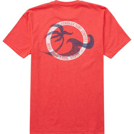 HONOLUA HAWAIIAN (PRODUCT URL BUG) TUBES TEE RED
