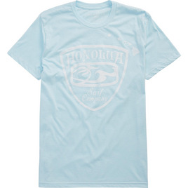 HONOLUA HAWAIIAN CRESTED TEE ICE BLUE