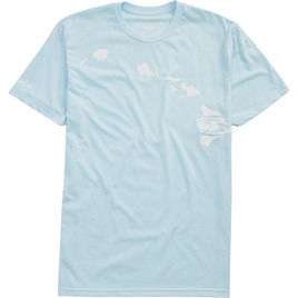 HONOLUA HAWAIIAN (PRODUCT URL BUG) LINK HAWAII TEE ICE BLUE