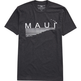 HONOLUA HAWAIIAN (PRODUCT URL BUG) LINED UP MAUI TEE