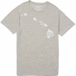 HONOLUA HAWAIIAN (PRODUCT URL BUG) MALACHI HAWAII TEE GRAY
