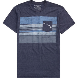 HONOLUA HONOLUA PRODUCTS POCKET BLOCK TEE