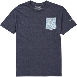 HONOLUA SURF CLOTHING FAUNA POCKET TEE MIDNIGHT