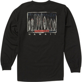 HONOLUA - LONG SLEEVE TEES EVOLUTION LONG SLEEVE TEE BLACK