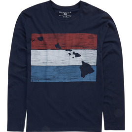 HONOLUA - LONG SLEEVE TEES BLOCKHEAD LONG SLEEVE TEE NAVY 1