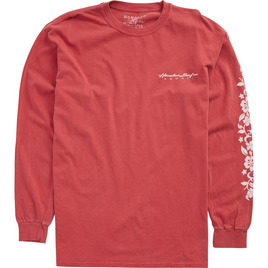 HONOLUA - LONG SLEEVE TEES MAUI LEI LS TEE CRIMSON