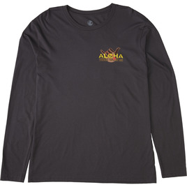 HONOLUA SURF CLOTHING SHAKA WINGS LONG SLEEVE TEE METAL
