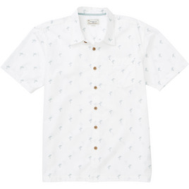 HONOLUA SURF - SHIRTS & POLOS PALM TREES HAWAIIAN SHIRT White