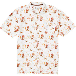 HONOLUA SURF - SHIRTS & POLOS LUAU HAWAIIAN SHIRT WHITE