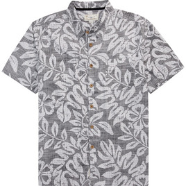 HONOLUA SURF - SHIRTS & POLOS FAUNA HAWAIIAN BUTTON DOWN SHIRT BLACK