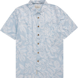 HONOLUA SURF - SHIRTS & POLOS FAUNA HAWAIIAN SHIRT LIGHT BLUE