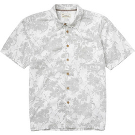 HONOLUA SURF - SHIRTS & POLOS LEEWARD HAWAIIAN BUTTON DOWN SHIRT GREY